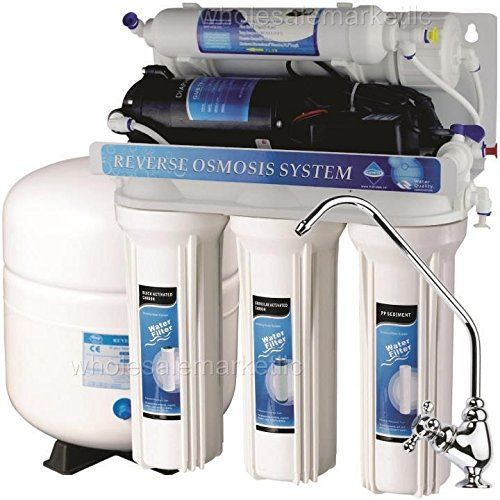 5 Stage Reverse Osmosis With Booster Pump Ro Water Filter System 50 Gpd Reverse Osmosis Water Filters System Osmosis