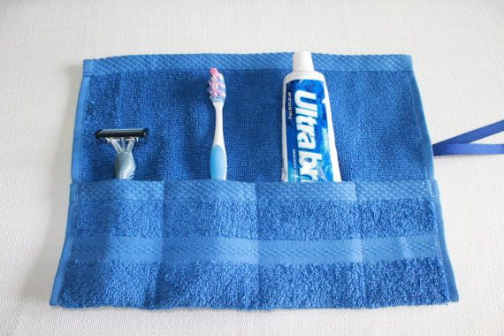 Travel Toothbrush Holder Travel Toothbrush Roll by perfectdarlings