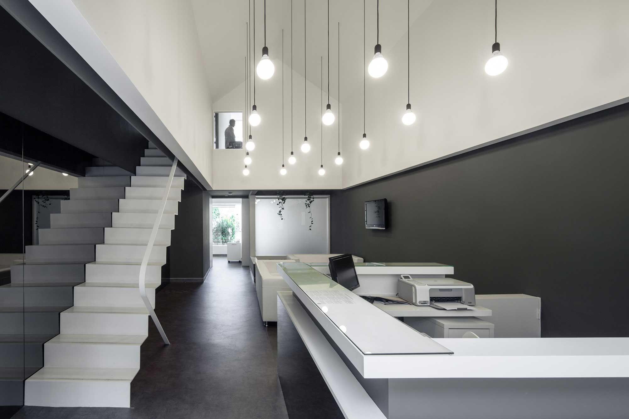 Stylish and modern dental studio design in portugal