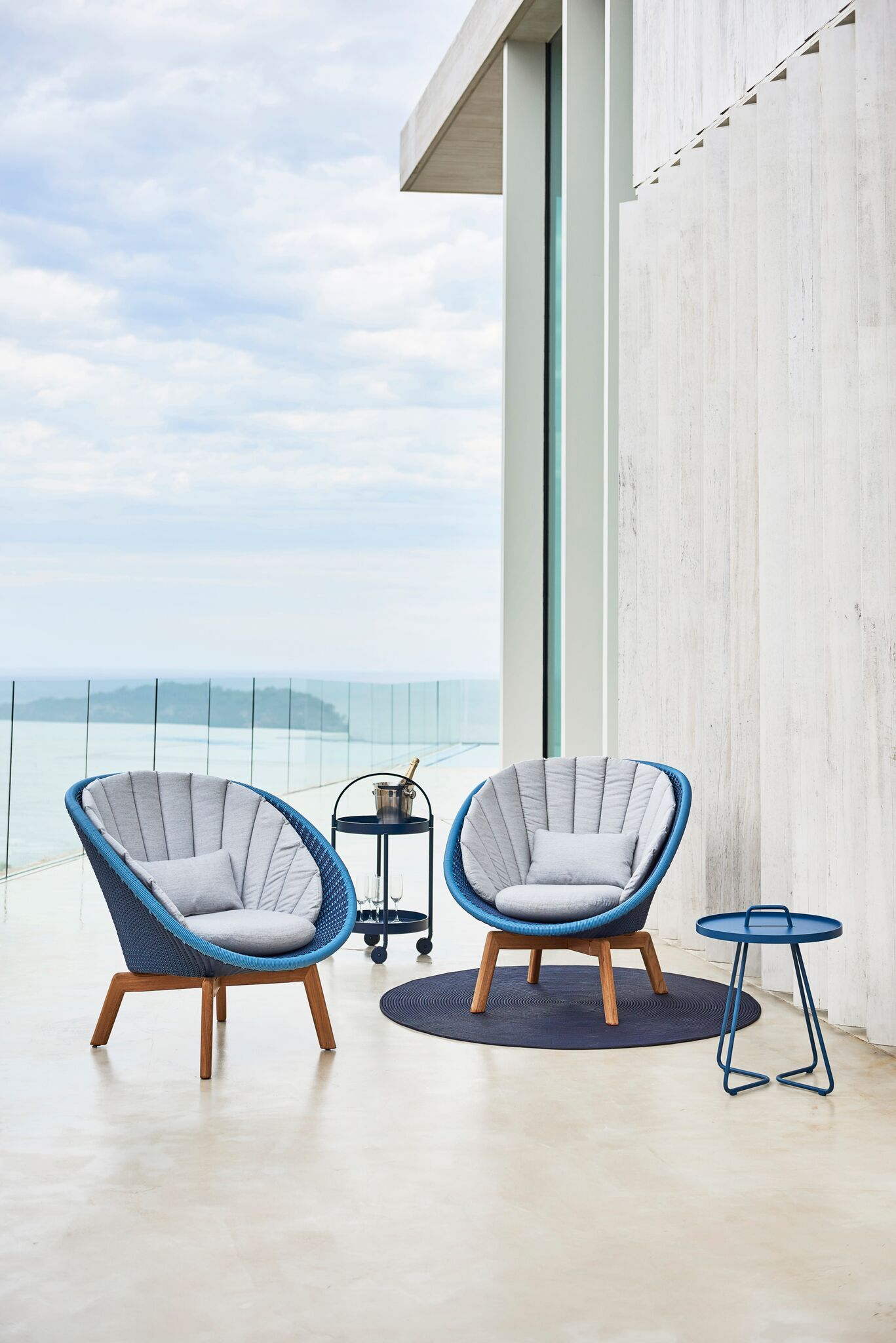Cane Line Peacock Loungesessel Lounge Sessel Modernes