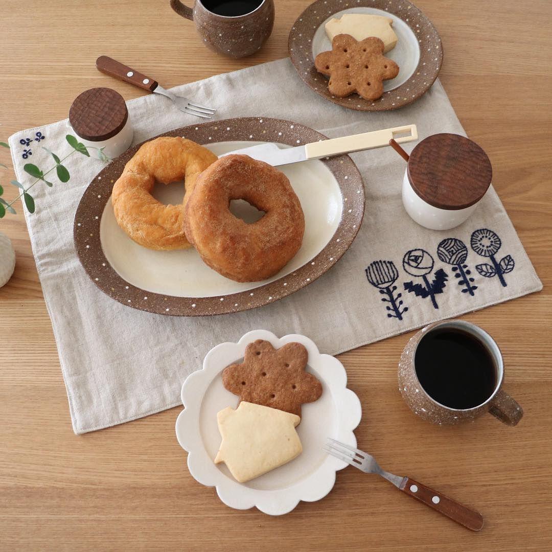 今日のおやつ クッキーとドーナツ♪ #智工房