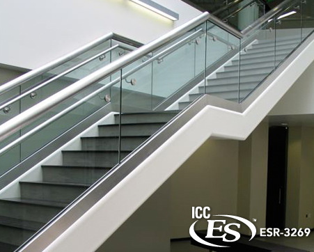 Best Image Result For Commercial Stair Railing Systems Glass 400 x 300