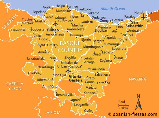 Basque Country Travel Guide Spanish Fiestas Euskadi Pinterest