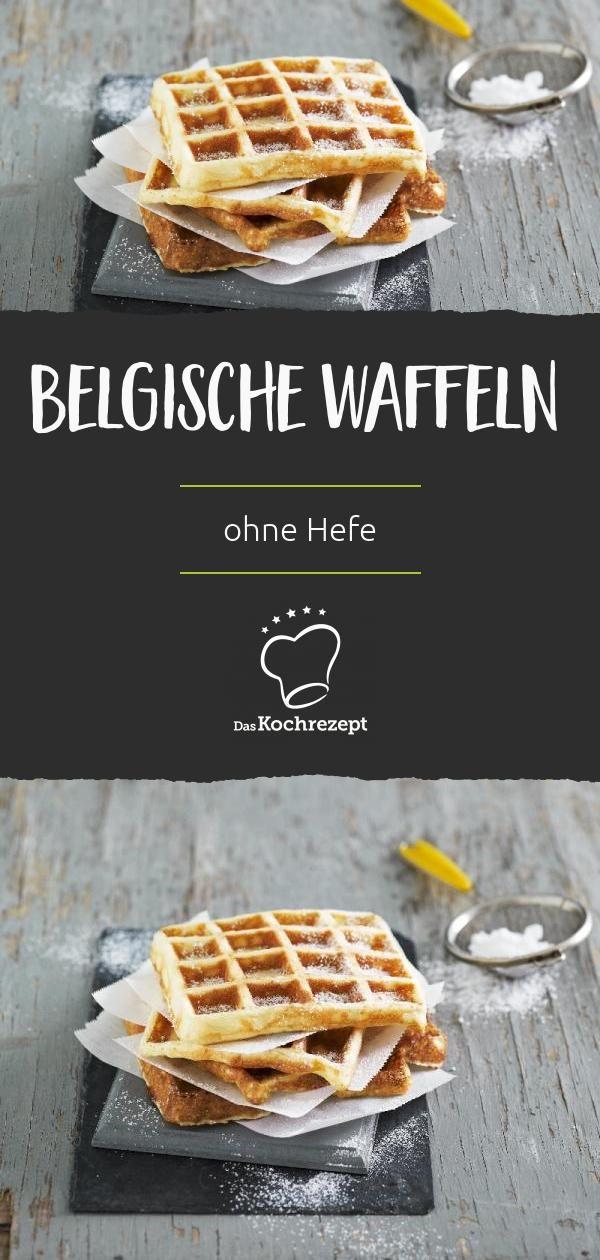 Photo of Belgische Waffeln ohne Hefe