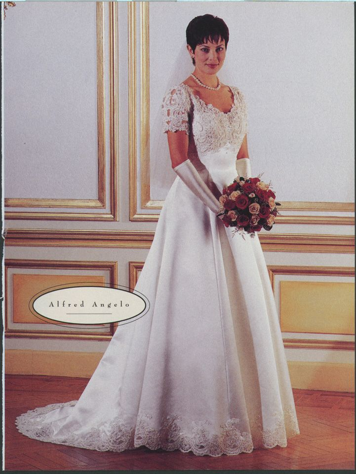 Alfred Angelo 1998 Wedding Dresses 1990s Wedding Dresses 90s Wedding Dress