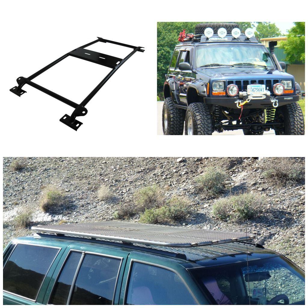 Xj Roof Mounted Accessories Xj Tire Rack Xj Safari Rack Xj