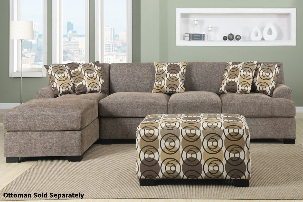 Montreal III Beige Fabric Sectional Sofa in 2019 | For the ...