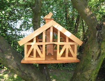 Vogelhaus fachwerk