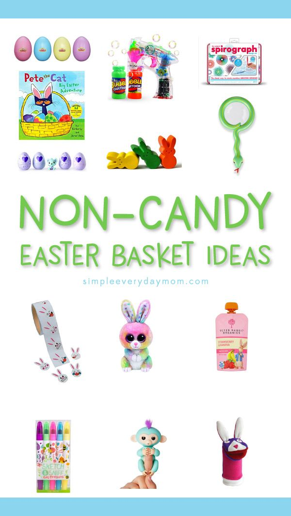 13 non candy easter basket ideas for kids theyll love more than 13 non candy easter basket ideas for kids theyll love more than sugar basket ideas easter baskets and easter negle Image collections