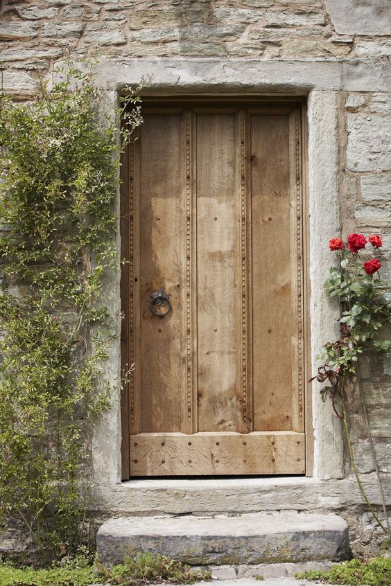 Bespoke traditional external oak doors  — Jack Badger Ltd