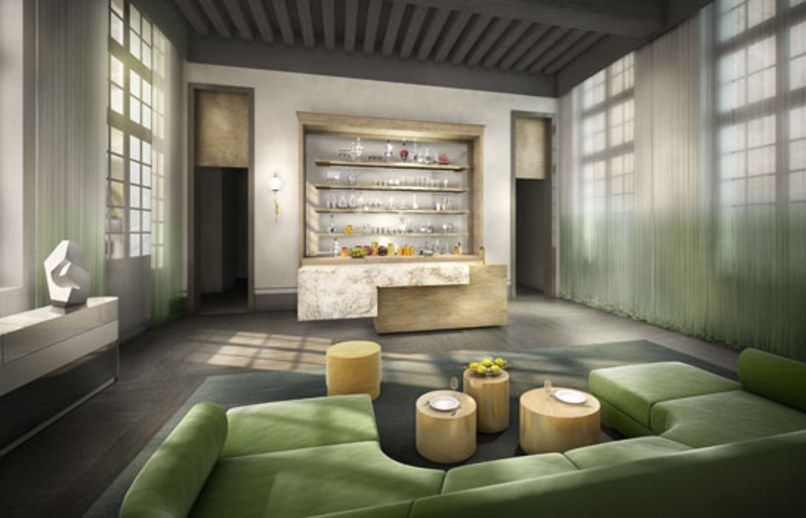 Ad France Hosts A Designer Show House With Images Show Home Architect House Barn Style House