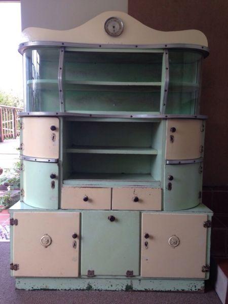 Antique Retro Vintage Kitchen Unit Cupboard Port Elizabeth Gumtree South Africa 146593450 Vintage Kitchen Kitchen Units Retro Home