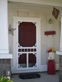 Farmhouse Screen Door We Need One For Our House