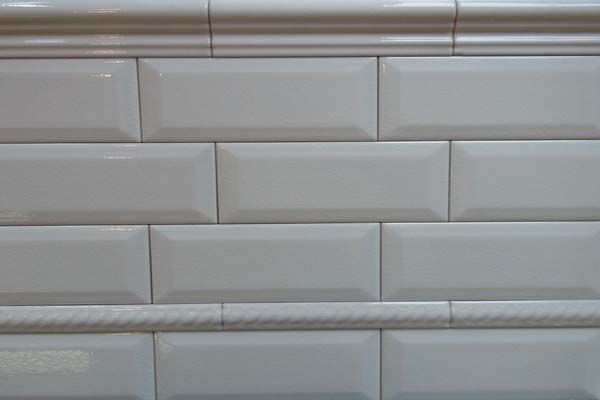 White Subway Tile Beveled Subway Tile White Beveled Subway Tile Subway Tile