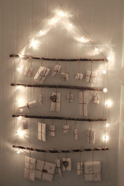 Advent Calendar - Calendrier de l\u0027avent - #holiday #decoration