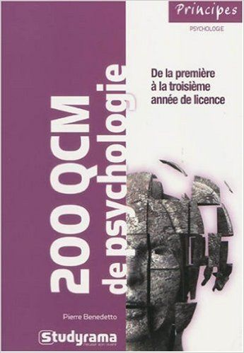 Amazon Fr 200 Qcm De Psychologie Pierre Benedetto