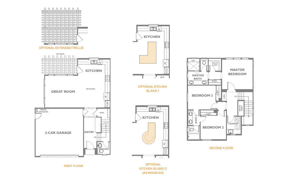 The Peake Residence 1 Floor Plan