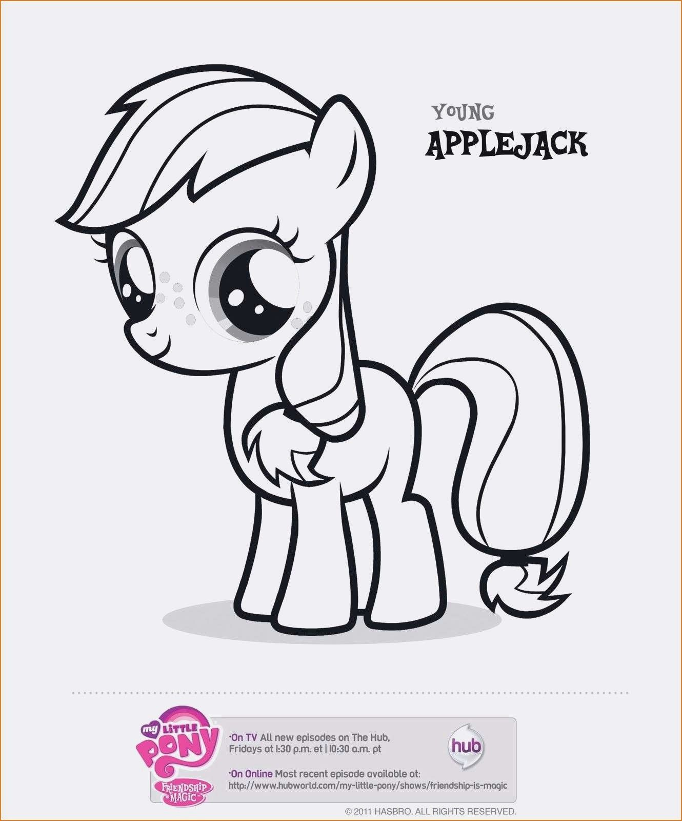 Neu Malvorlagen Little Pony  My little pony coloring, My little