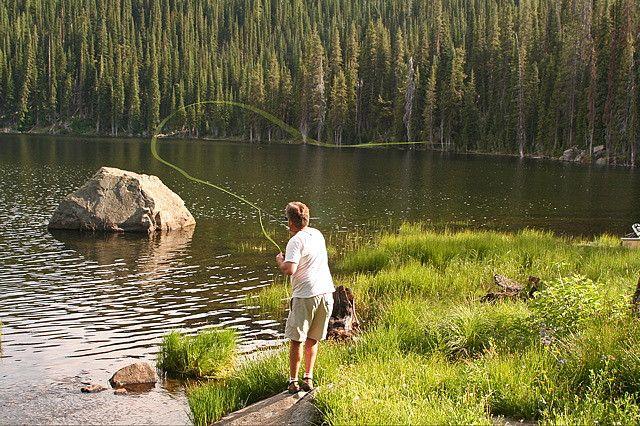 Fly Fishing Fish Lake Near Halfway Oregon Oregon Travel Fly Fishing Lake Fishing