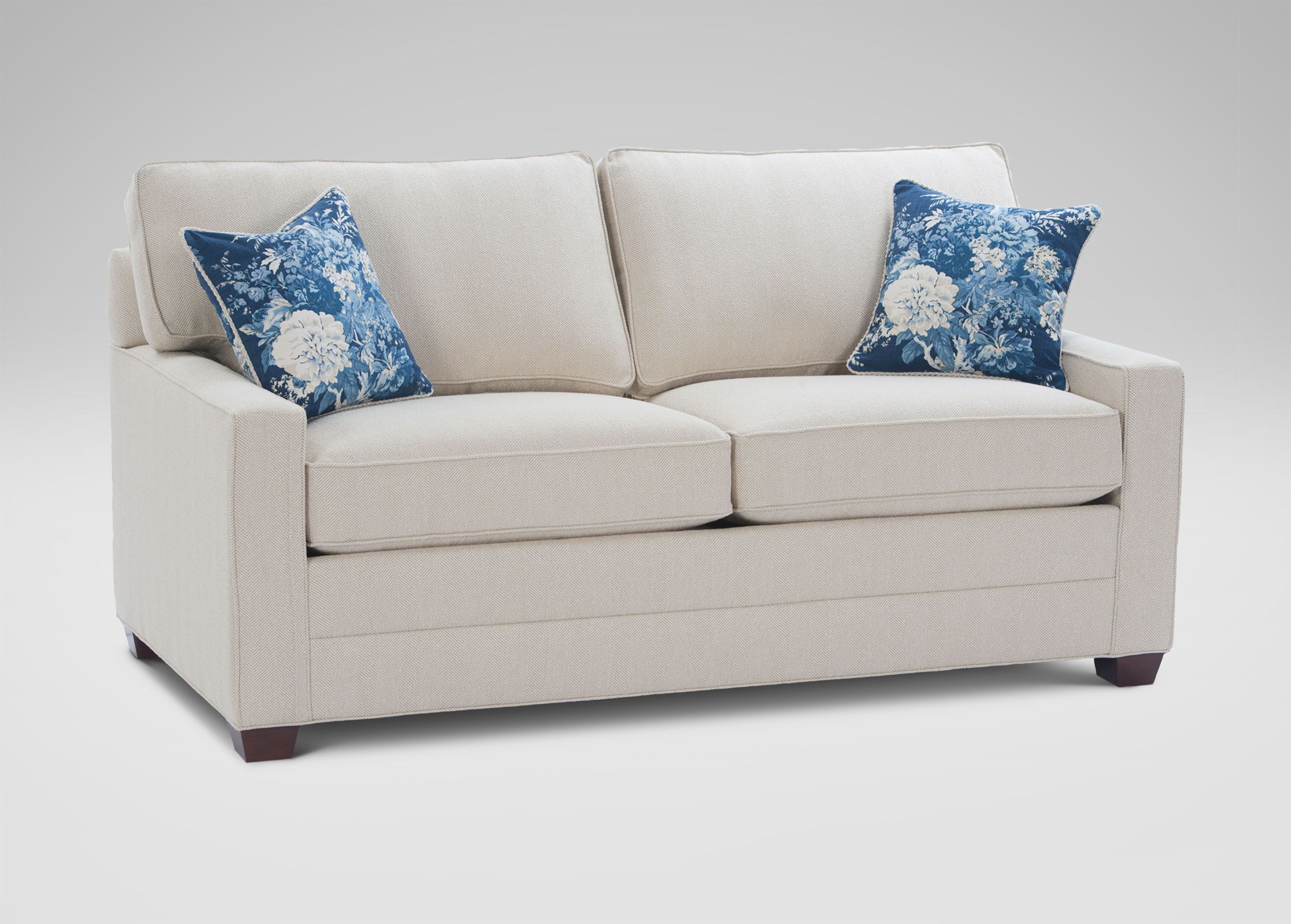 Bennett Track Arm Sofa clean lines min exposed feet very fy
