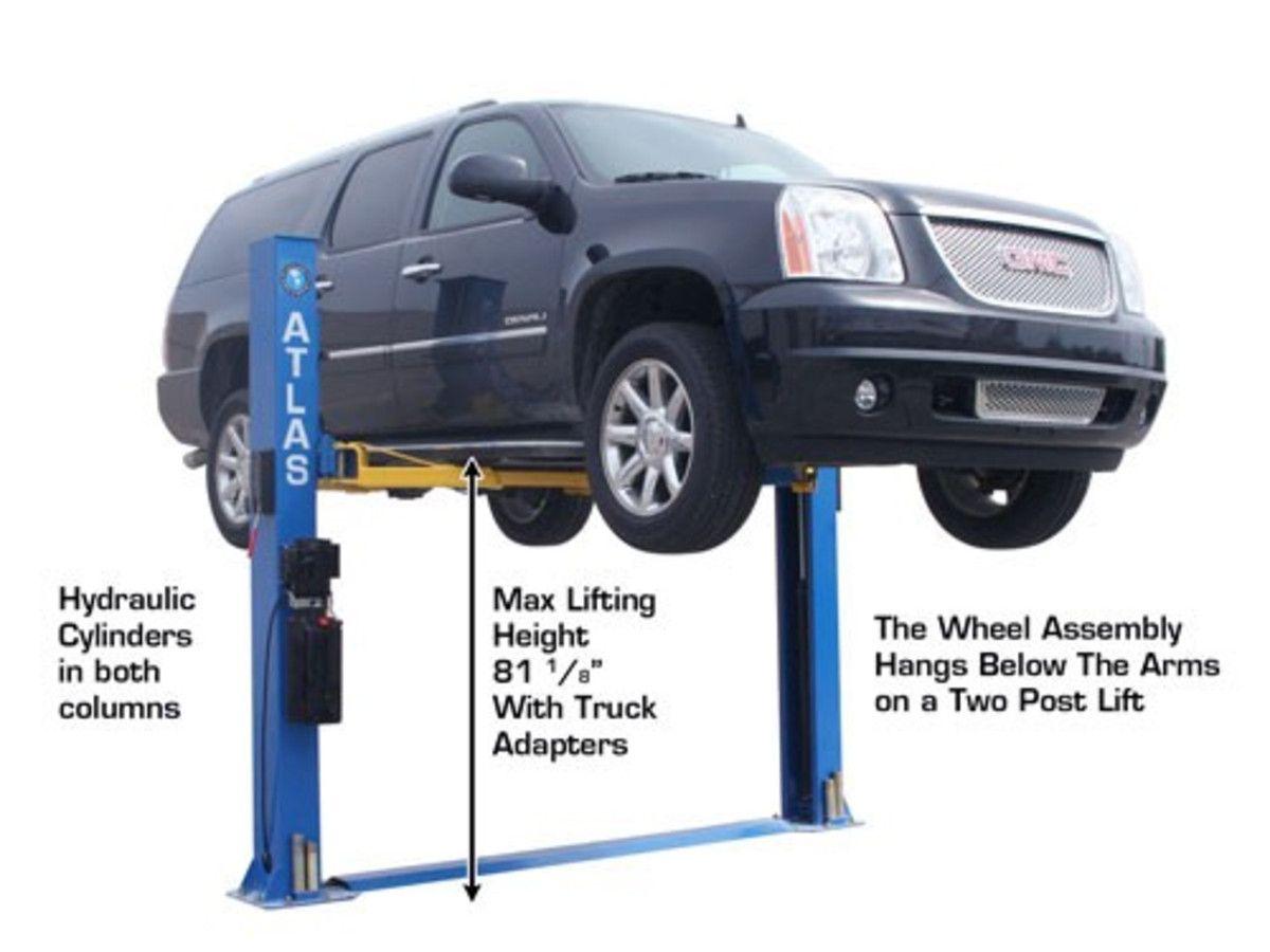 Atlas® BP8000 Baseplate 8,000 lbs. Capacity 2 Post Lift