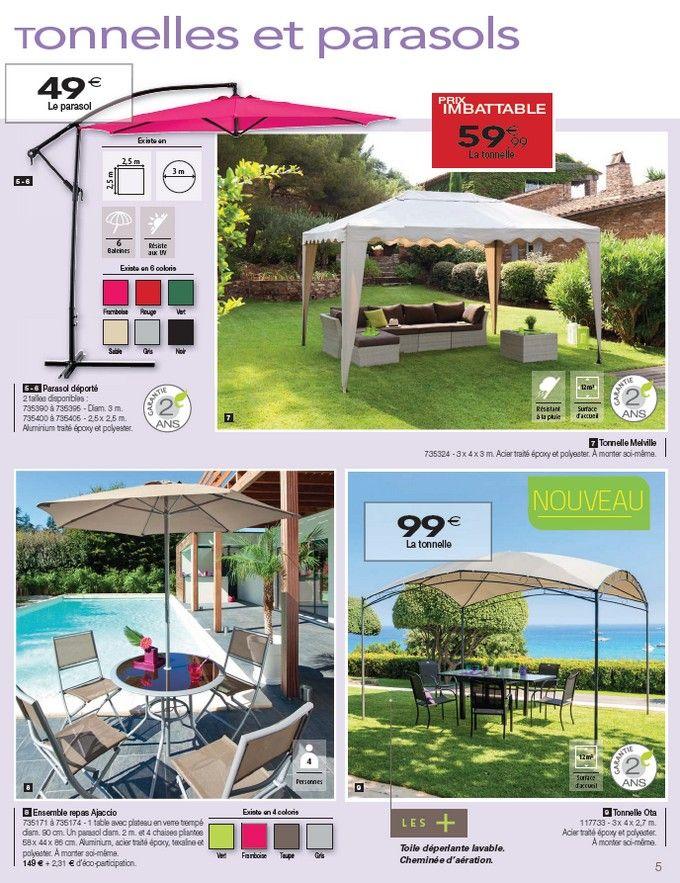 Catalogue Hespéride Jardin d\'exception Mars 2014 > Parasol déporté 2 ...