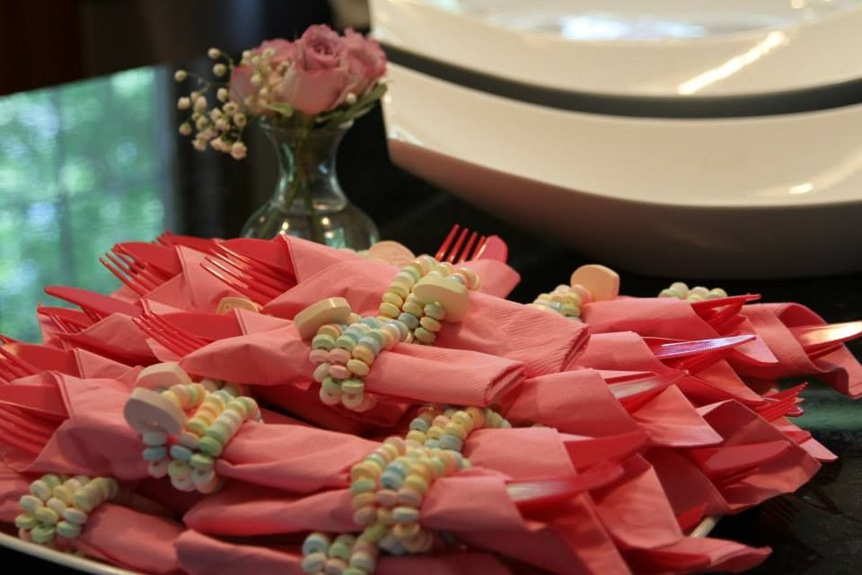 For a sweet bridal shower touchhow about