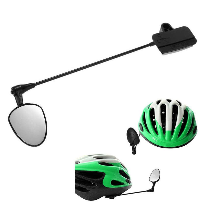 Mirror Helmet Rear View Bike Bicycle Ride Back Mountain Safety