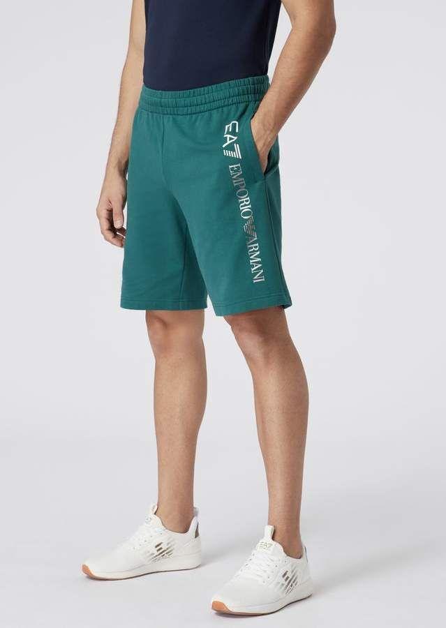 9e3e8d7df4 Emporio Armani Ea7 Train Core Shorts In Cotton Baby French Terry in ...
