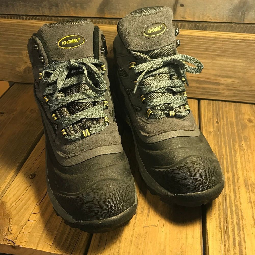 1545f8cd330 Khombu Men's Flume 2 Snow Boots Waterproof Winter Hiking Boots NWT ...