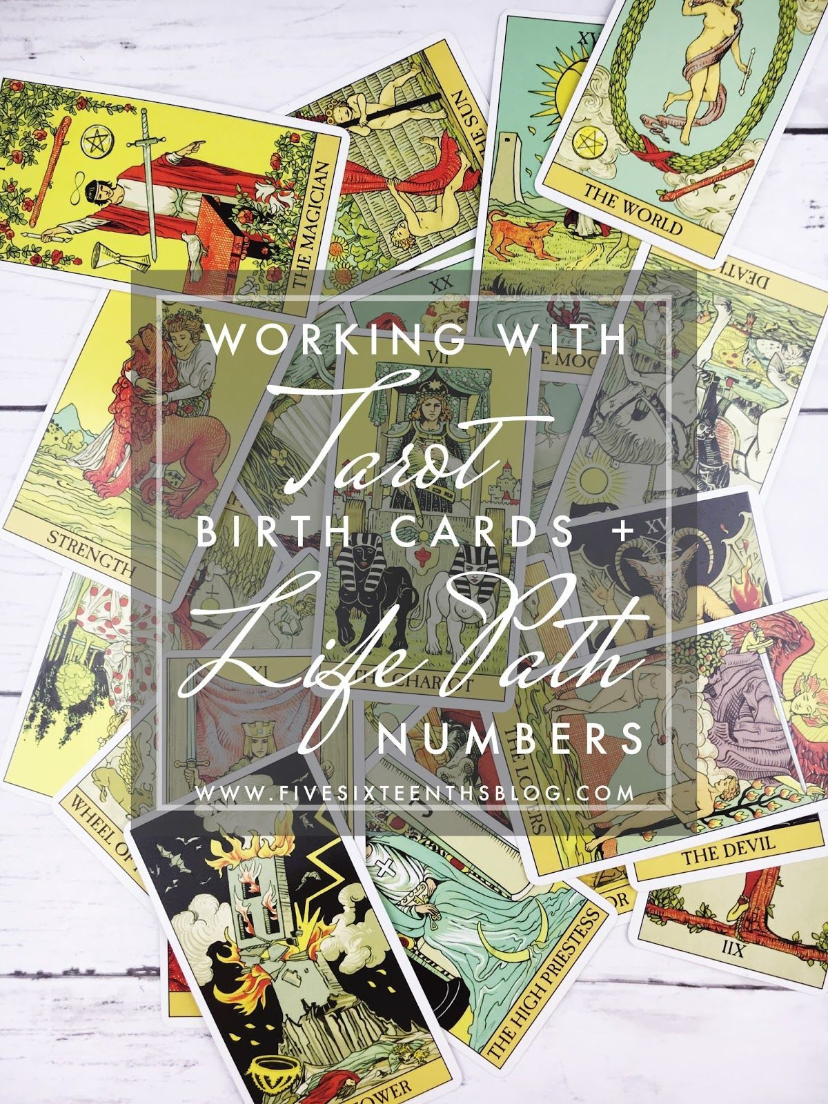 Tarot Diaries Tarot Birth Cards & Life Path Numbers If you haven t noticed there s been a lot of woo woo around these parts
