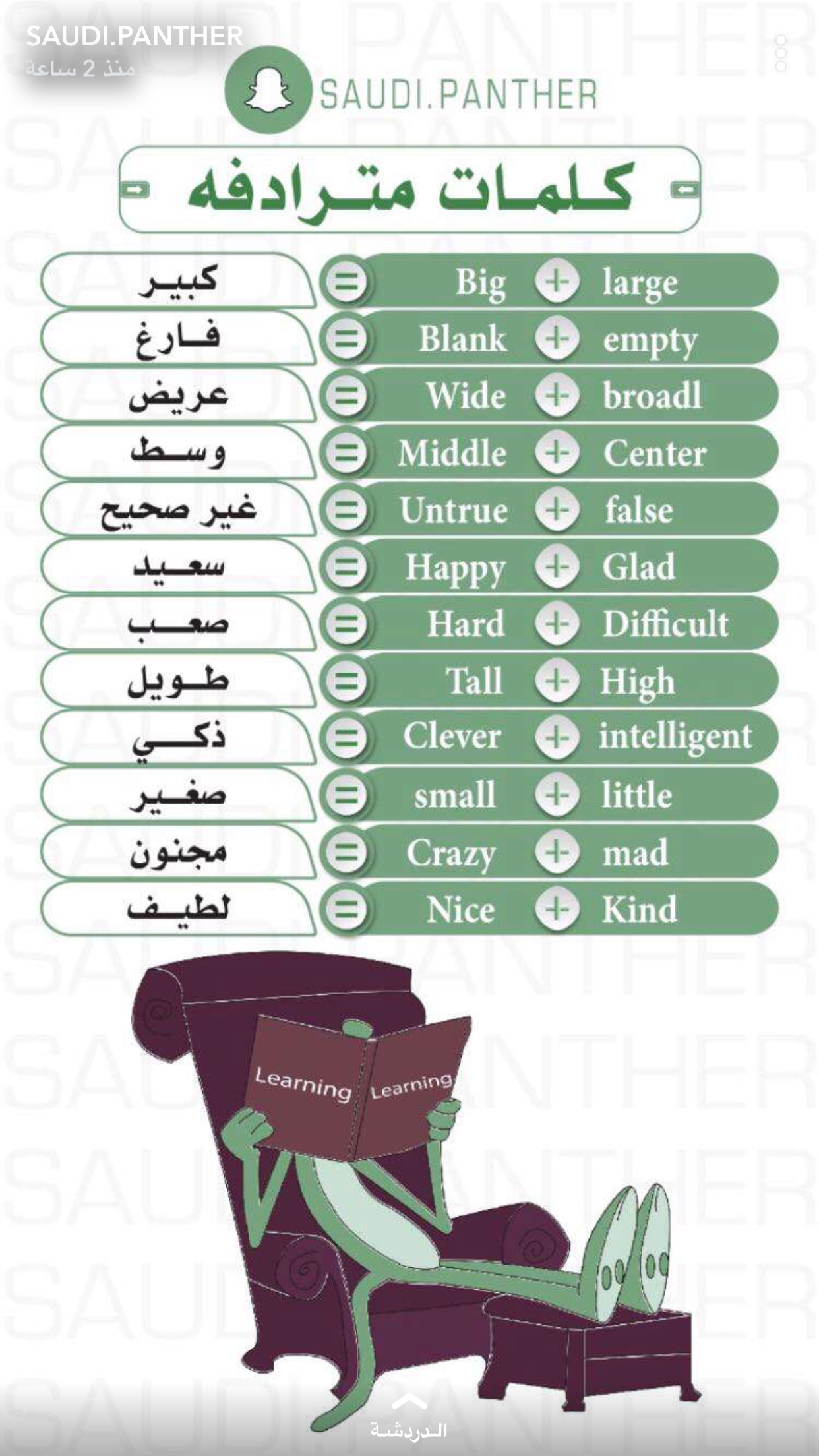 Learning Arabic Msa Fabienne English Language Learning Grammar Learn English Vocabulary English Language Teaching