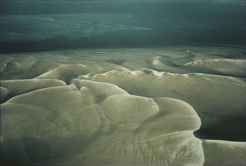 Sandbars, Cape Cod, Massachusetts, by William A. Garnett