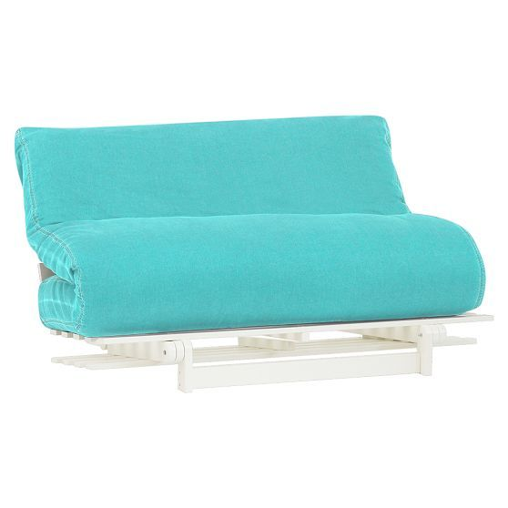 Washed Twill Futon Sectional Sofa Outdoor Furniture