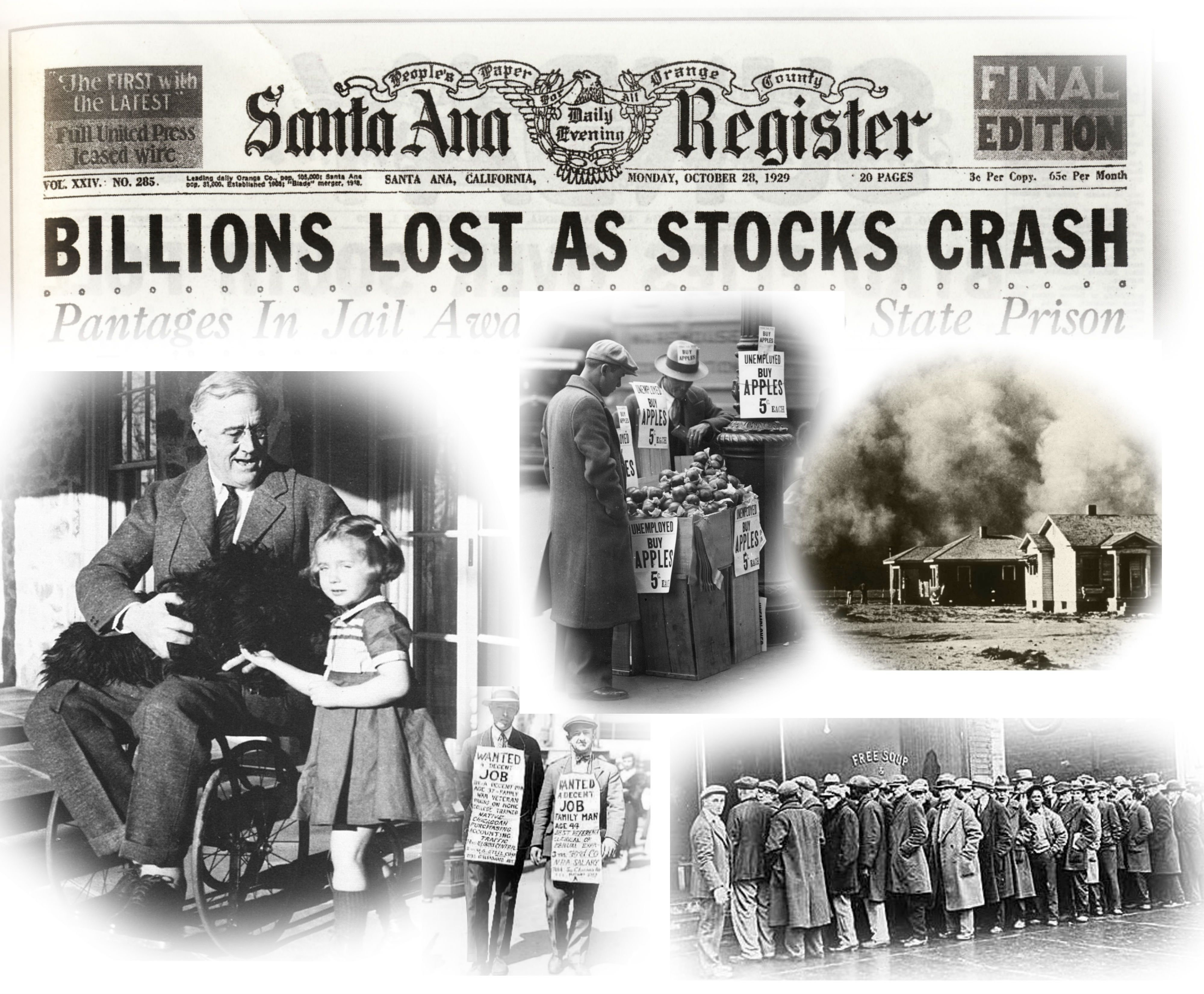 5 page research paper on the great depression This paper primarily focuses on what life was like for farmers during the , research paper essay/term paper: the great depression essay, term paper.