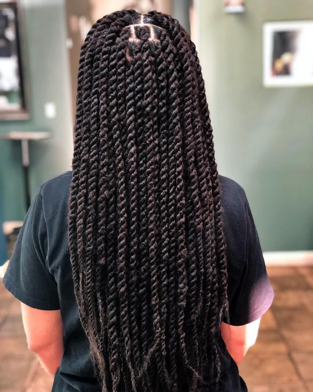 37+ Long kinky twist braids ideas