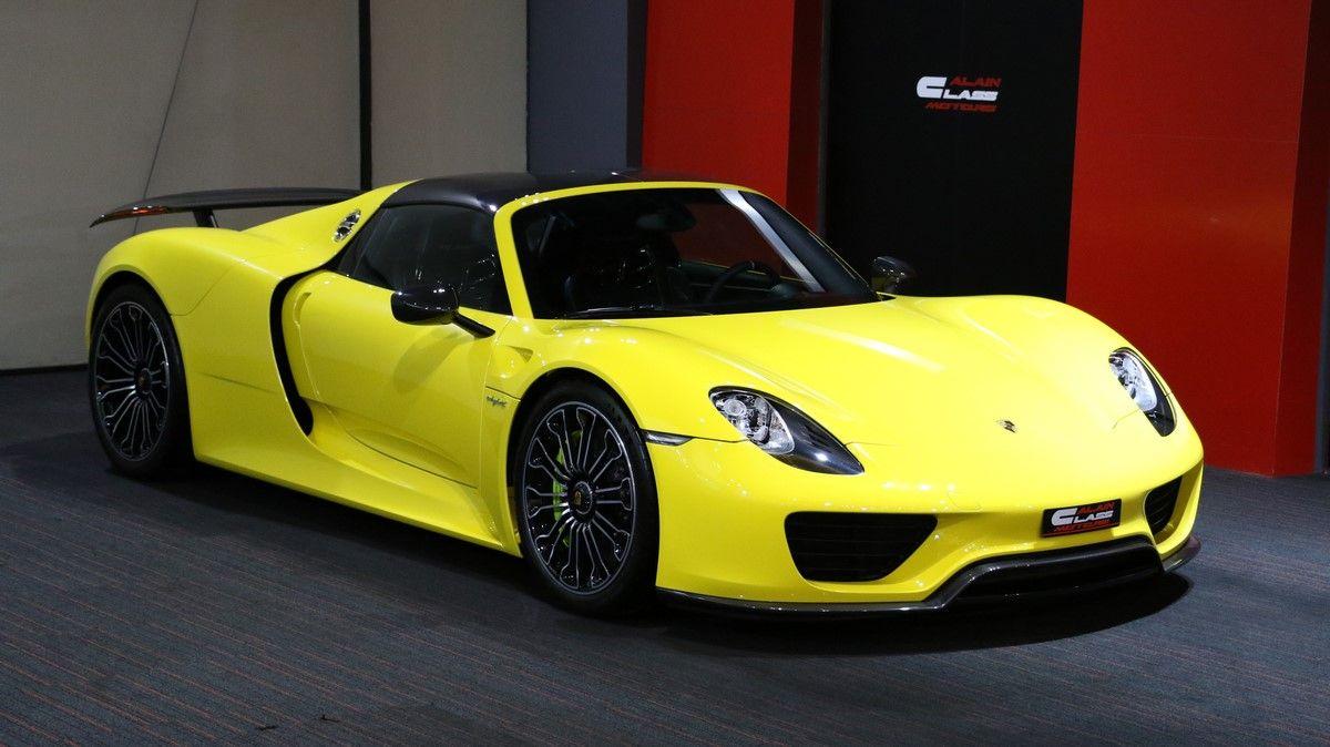 Porsche 918 Spyder Luxury Pulse Cars United Arab