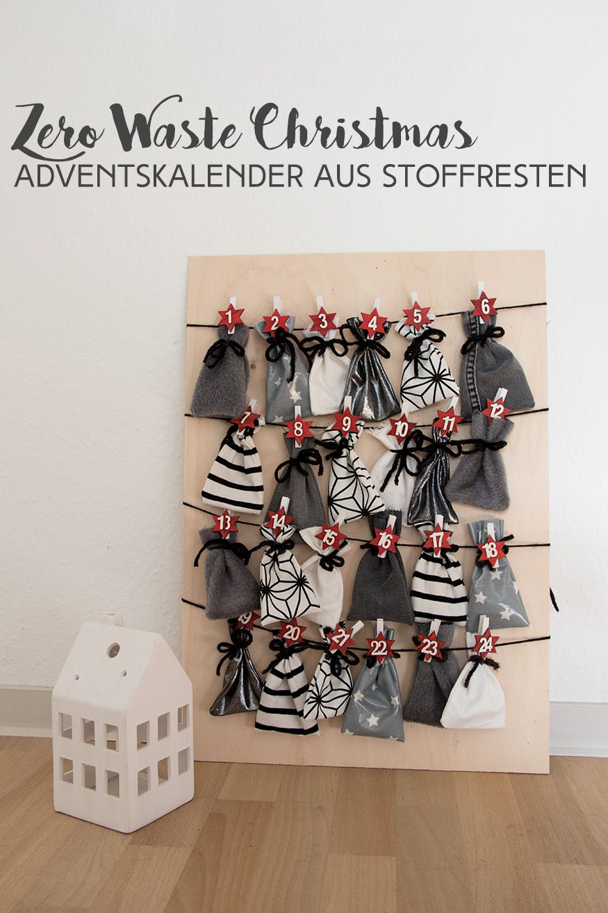 ZERO WASTE CHRISTMAS: ADVENTSKALENDER AUS STOFFRESTEN