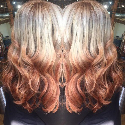 Reverse Ombre Haarfarbe Ombre Pinterest Reverse Ombre Hair