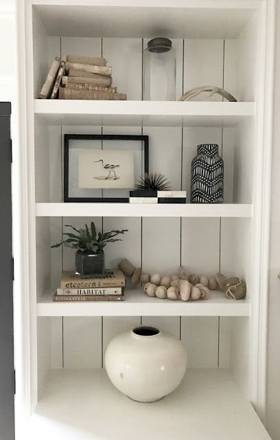 Bookshelves Before And After Minimalist Bookshelves Bookcase Decor Styling Bookshelves
