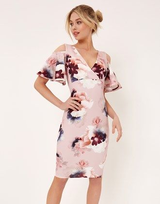 1600f2eb95a5 Girls On Film Cold Shoulder Bodycon Dress   On line clothing