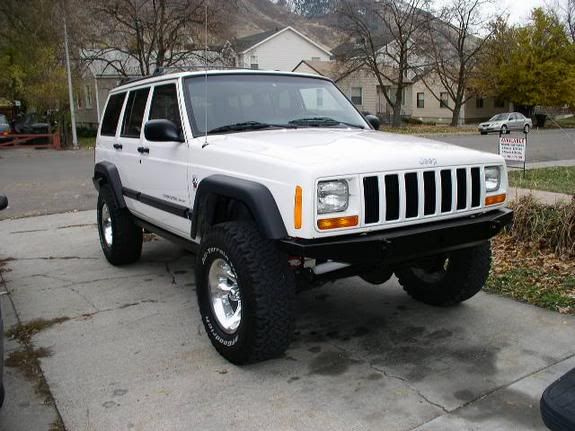 Tj Flares On An Xj Jeep Cherokee Forum Jeep Cherokee Jeep
