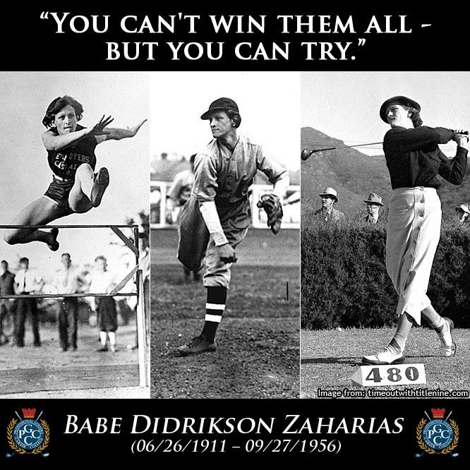 golf legend didrikson