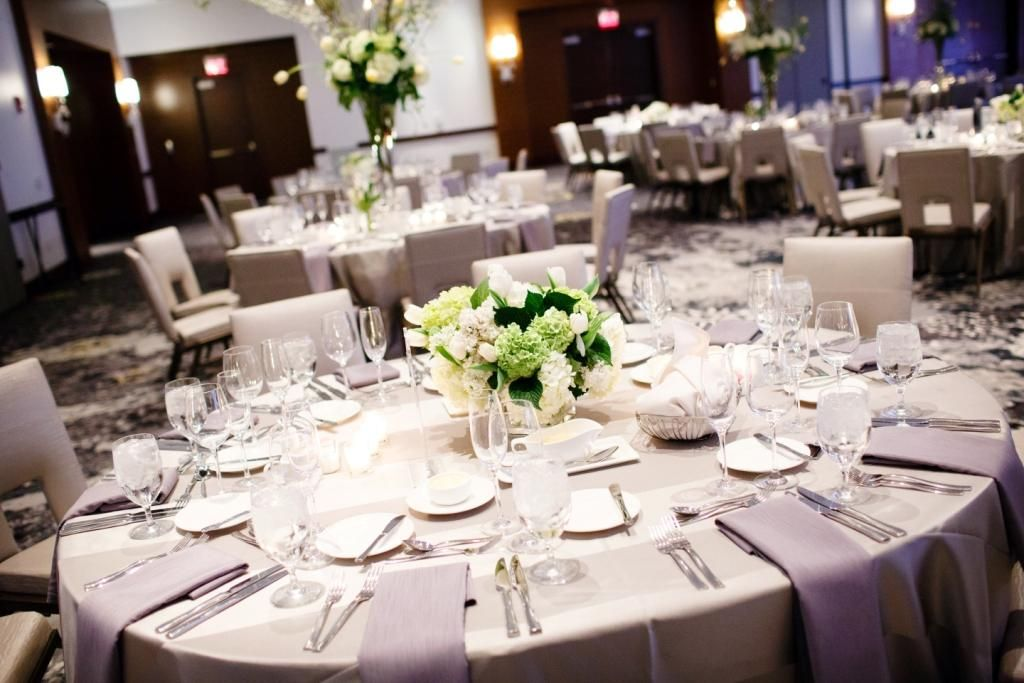 Ballroom Wedding Reception At The Hilton Columbus Downtown In