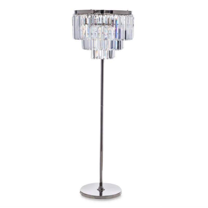 Luxe Crystal Floor Lamp By Z Gallerie Crystal Floor Lamp Crystal Lamp Lamp
