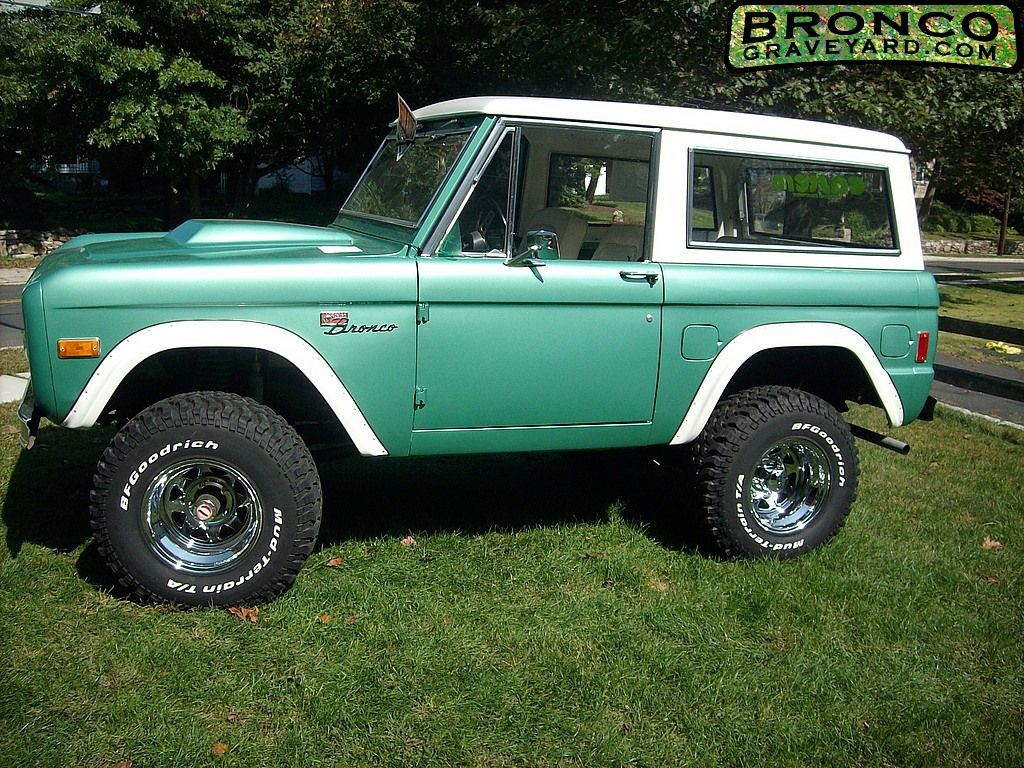 1977 Ford Bronco Best Year Ever