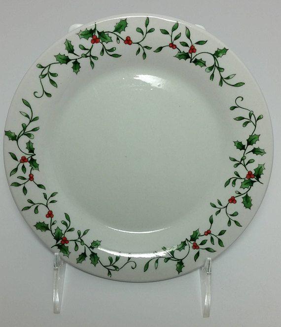 Holiday China Snowflake China Gold China Berry Bowls Berry Bowls /& Bread Plates Set Mismatched China Small Bowls Bread Plates
