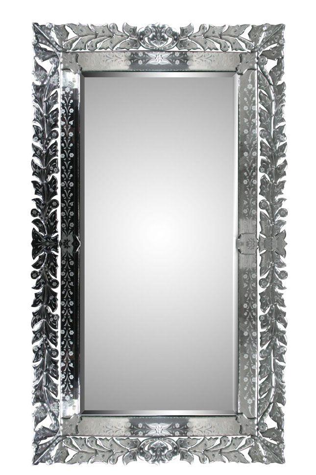 Regina Rectangle Venetian Mirror Venetian Mirrors Mirror Fancy Mirrors