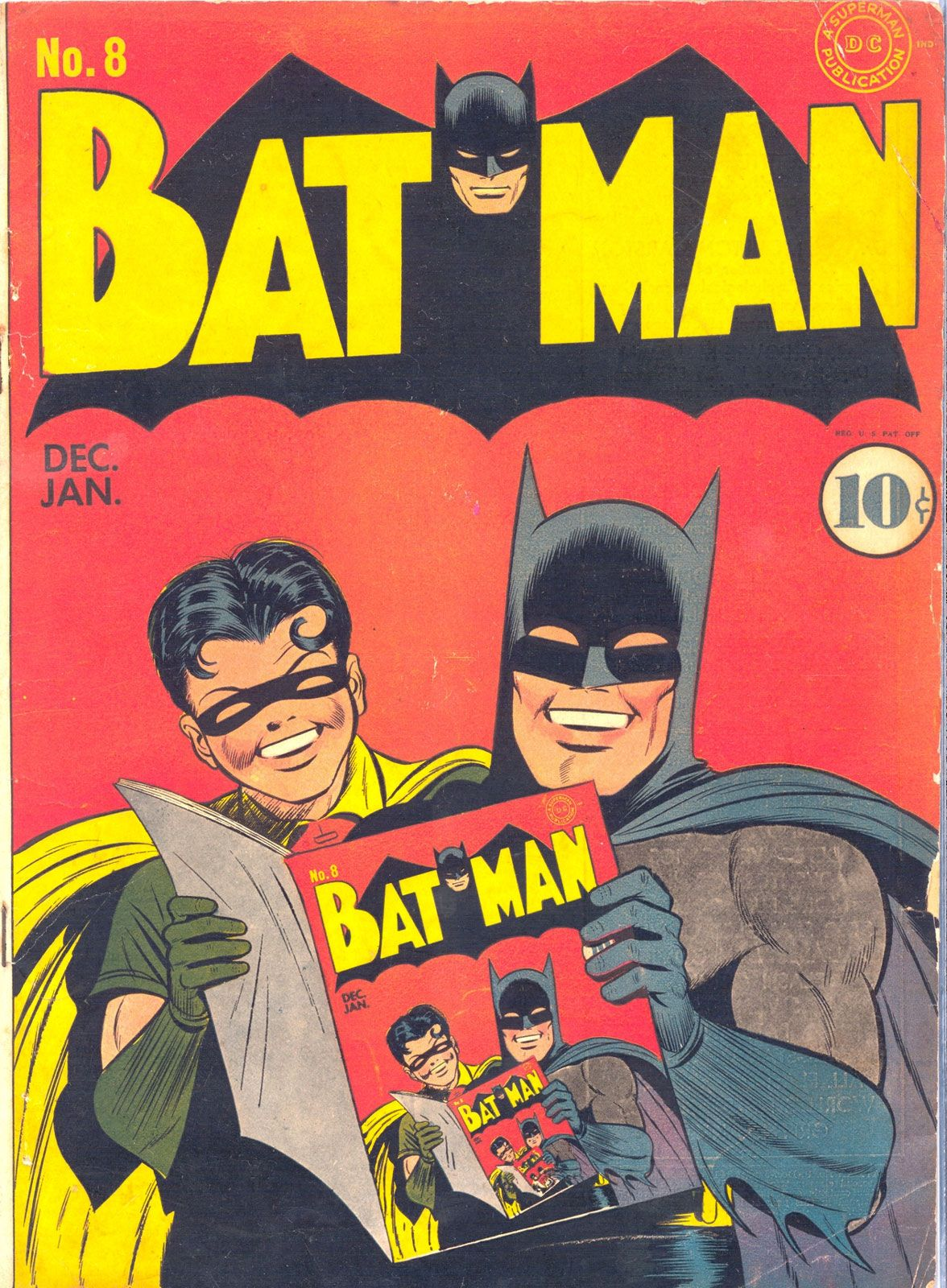 Batman #8 Comic, 1941 | Vintage Comic Covers | Pinterest | Batman ...
