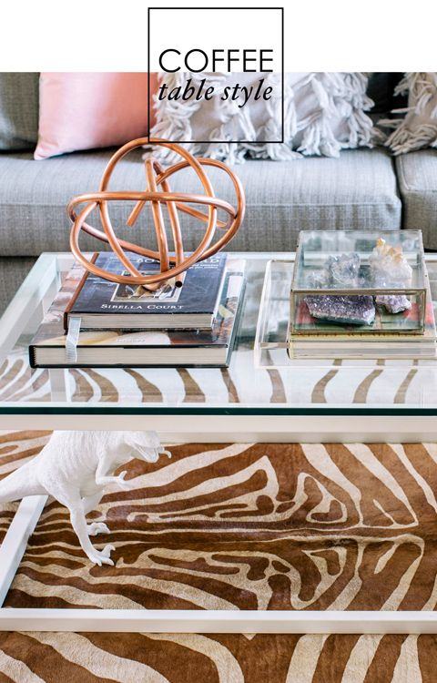 coffee table styling - Google Search